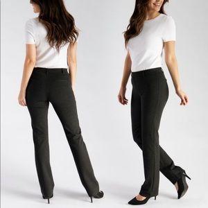 Betabrand Dress Pant Yoga Pant StraightLeg Classic